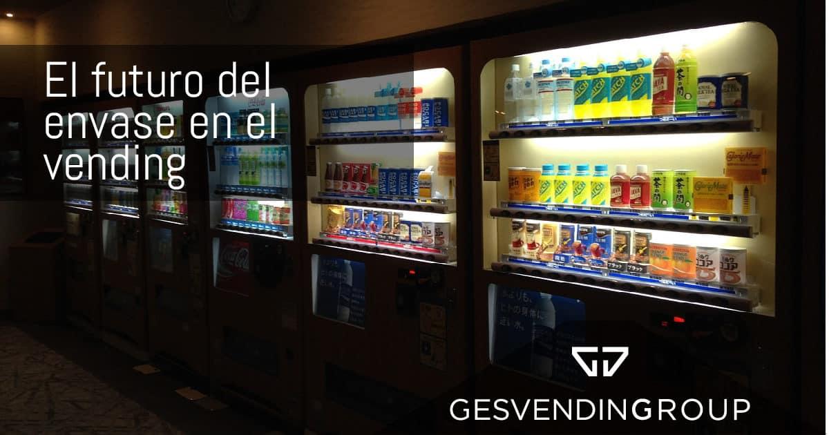 Envases de vending: vidrio, plástico y cartón