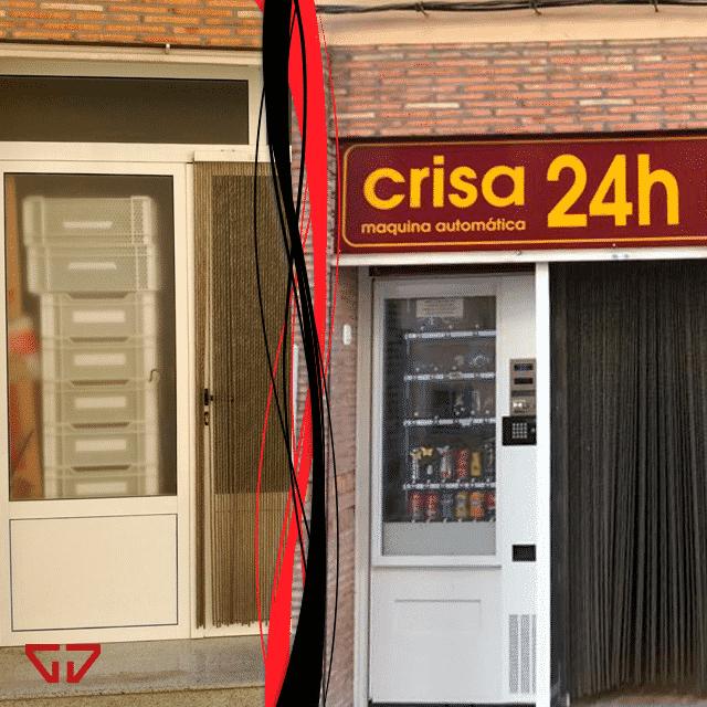 Planet Crisa máquina automática 24h en Viver (Castellón)