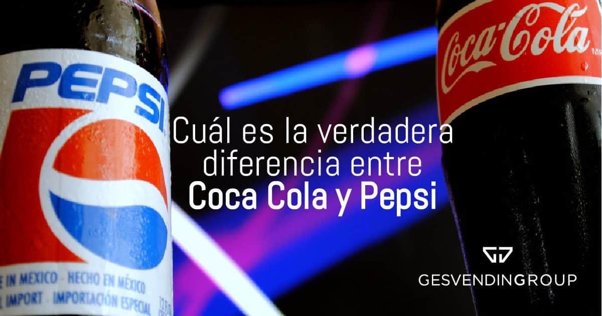 Diferencias entre Pepsi y Coca Cola