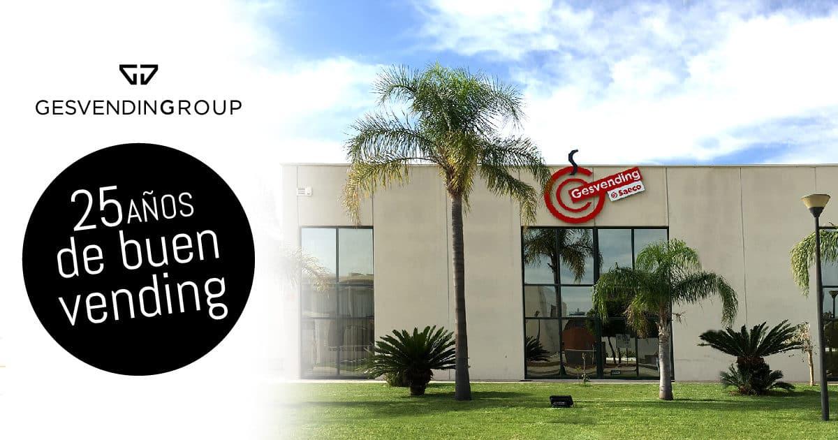 Gesvending cumple 25 años liderando el vending de la Comunidad Valenciana