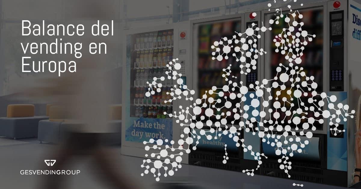 Balance del sector del vending en Europa