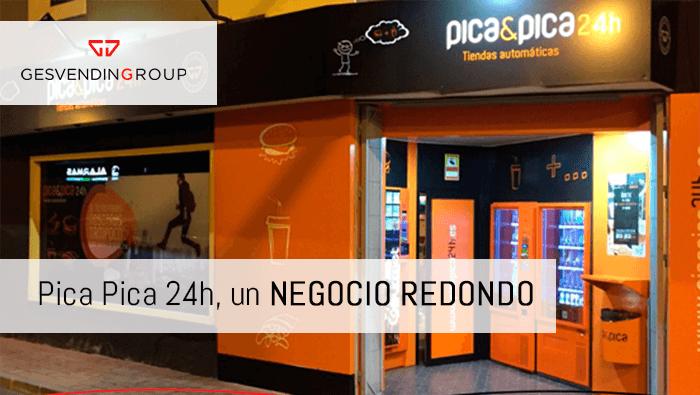 Tiendas automatizadas Pica Pica 24h, un negocio redondo