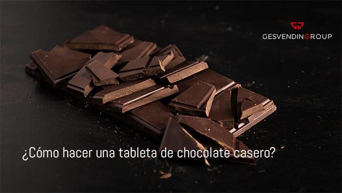 ¿Cómo hacer una tableta de chocolate casero? Te mostramos la receta perfecta