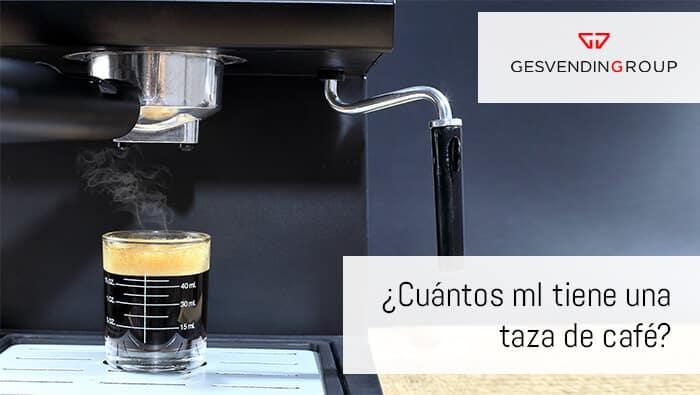 La mayoría de las tazas de café que se utilizan en hostelería y también las que se usan en casa tienen una capacidad aproximada de 100 ml.