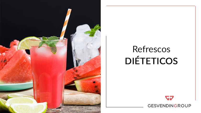 refrescos dietéticos con edulcorantes