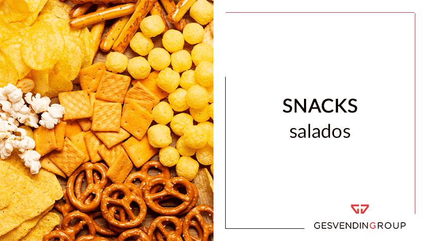 snacks salados, fáciles de manipular y muy sabrosos
